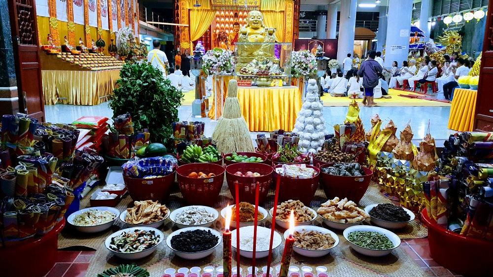 vegetarisch festival in Hat Yai