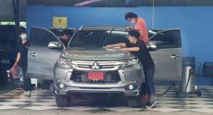 auto wassen in Thailand
