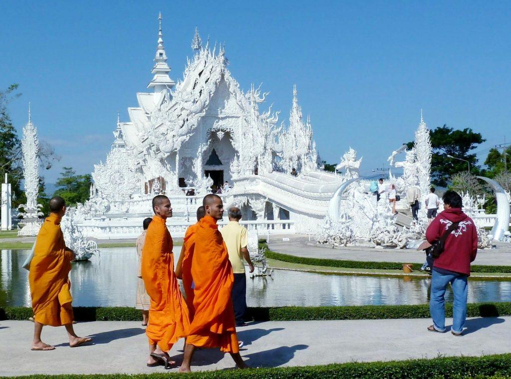 De witte tempel in Chiang Rai