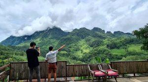rondrit bergen Noord Thailand