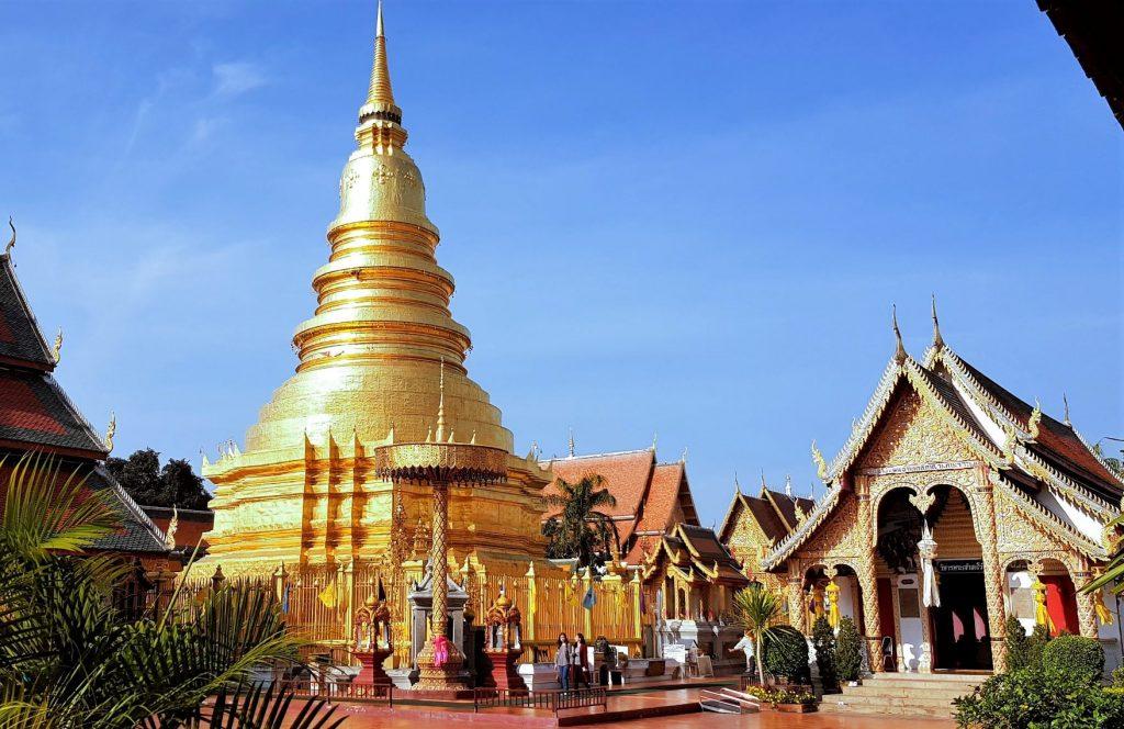 Wat Phra That Haripunchai in Lamphun