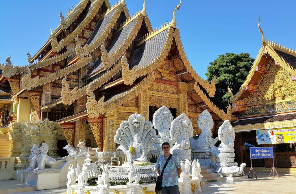 Wat San Pa Yang Luang in Lamphun