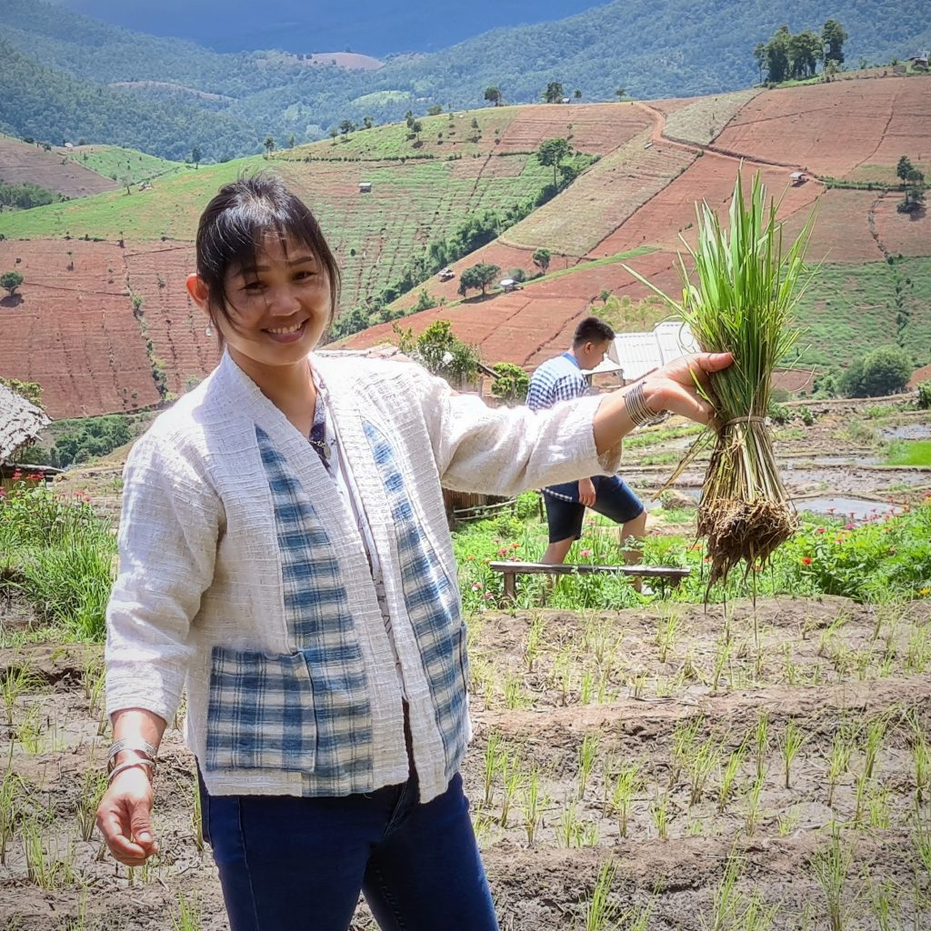 een glimlach op het gezicht, waar je ook kijkt in Thailand