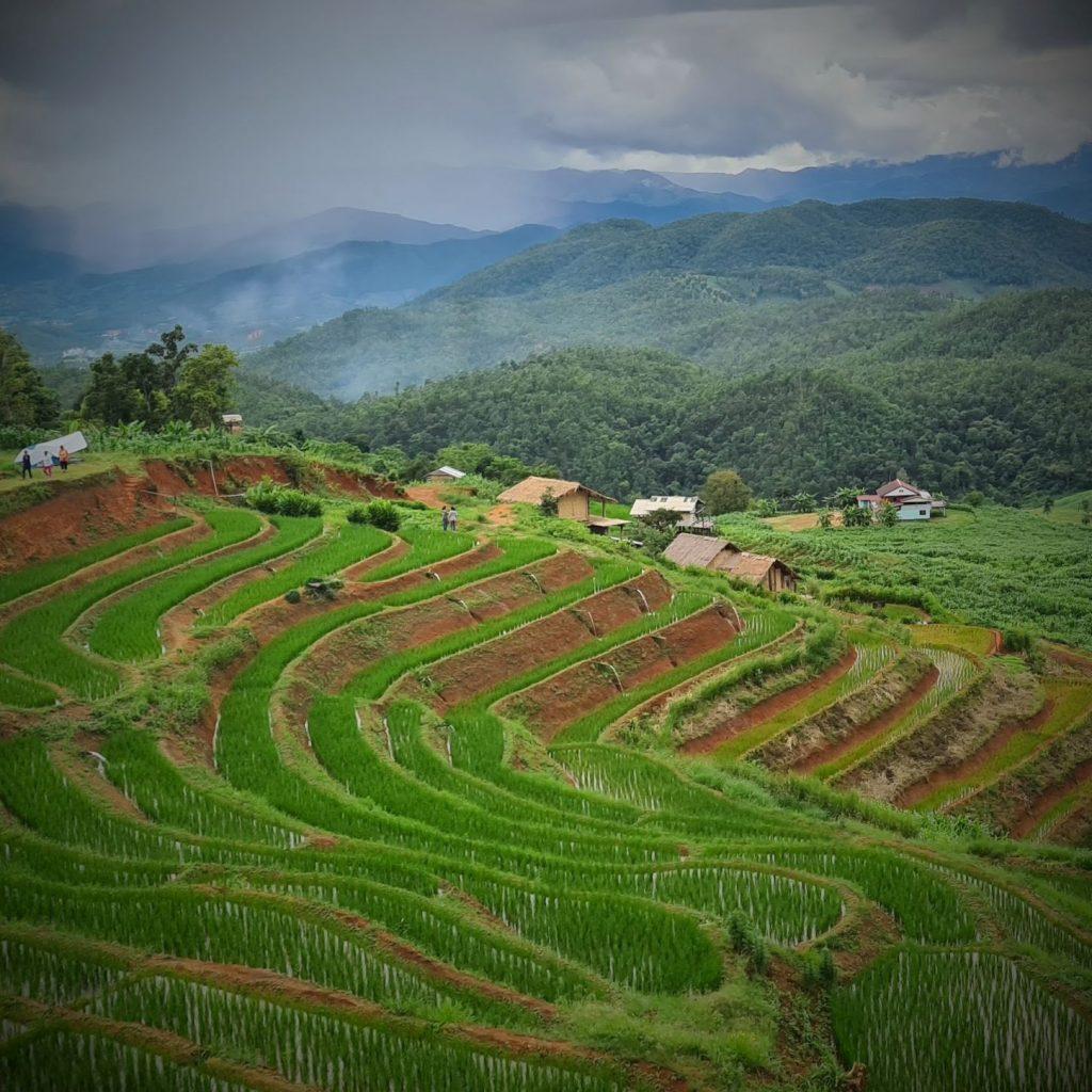 Rondrijden in de provincie Chiang Mai
